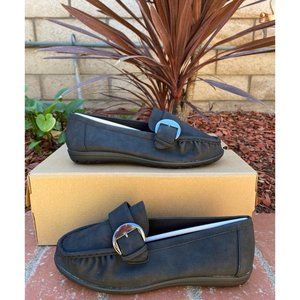 Soft Style Womens Black Loafers Size 7